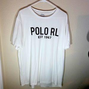Polo by Ralph Lauren Mens XL Graphic Crew Neck Tee